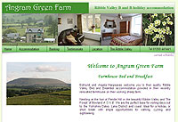 Holiday Bed and Breakfast Accommodation in the Forest of Bowland A.O.N.B. in North Lancashire