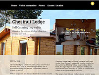Chestnut Lodge Self Catering log cabin Pilling village close to the Lancashire coast near to Blackpool and Lancaster