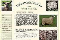 Pure Teeswater lustre Wool Washed and Unwashed Fleeces, Knitting Wool.
